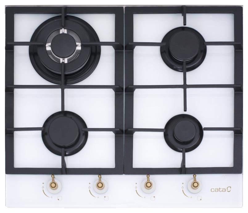 Встраиваемая варочная панель газовая CATA RCI 631 WH White
