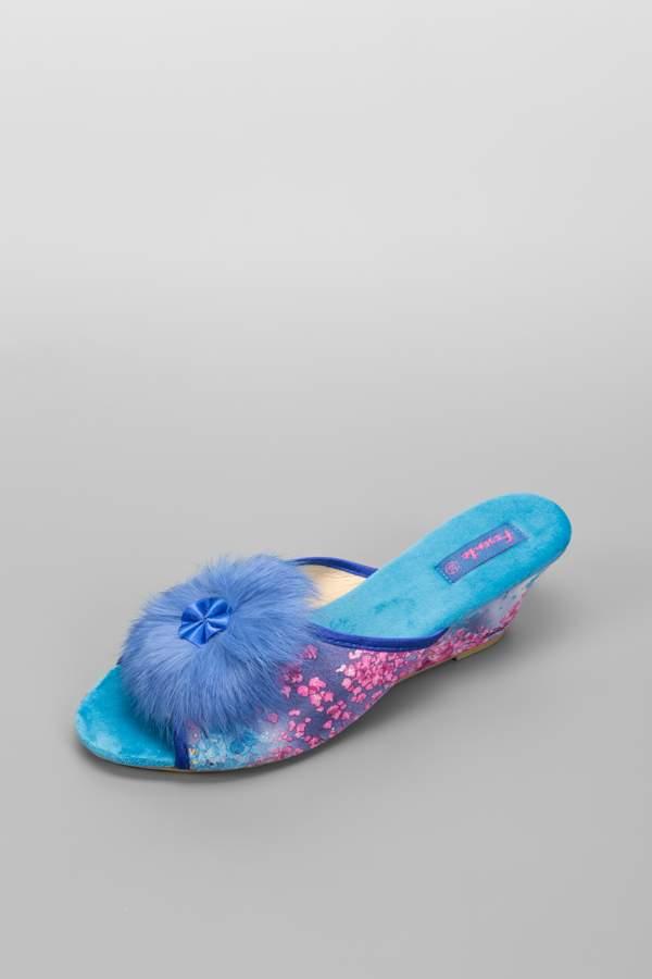 Домашние тапочки женские Ferento HLS3623-3 голубые 36 RU