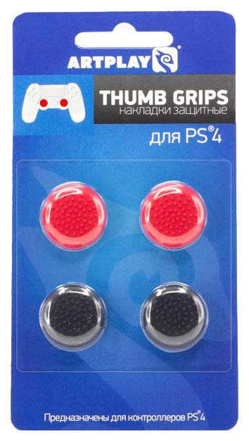 Защитные накладки для стиков Artplays ACPS4102 Красный черный