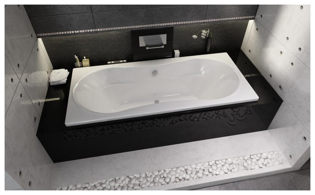 Акриловая ванна Riho Supreme 180х80 без гидромассажа