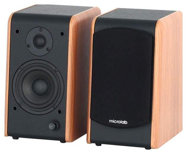 Колонки для компьютера Microlab B-77 Wood Brown/Black
