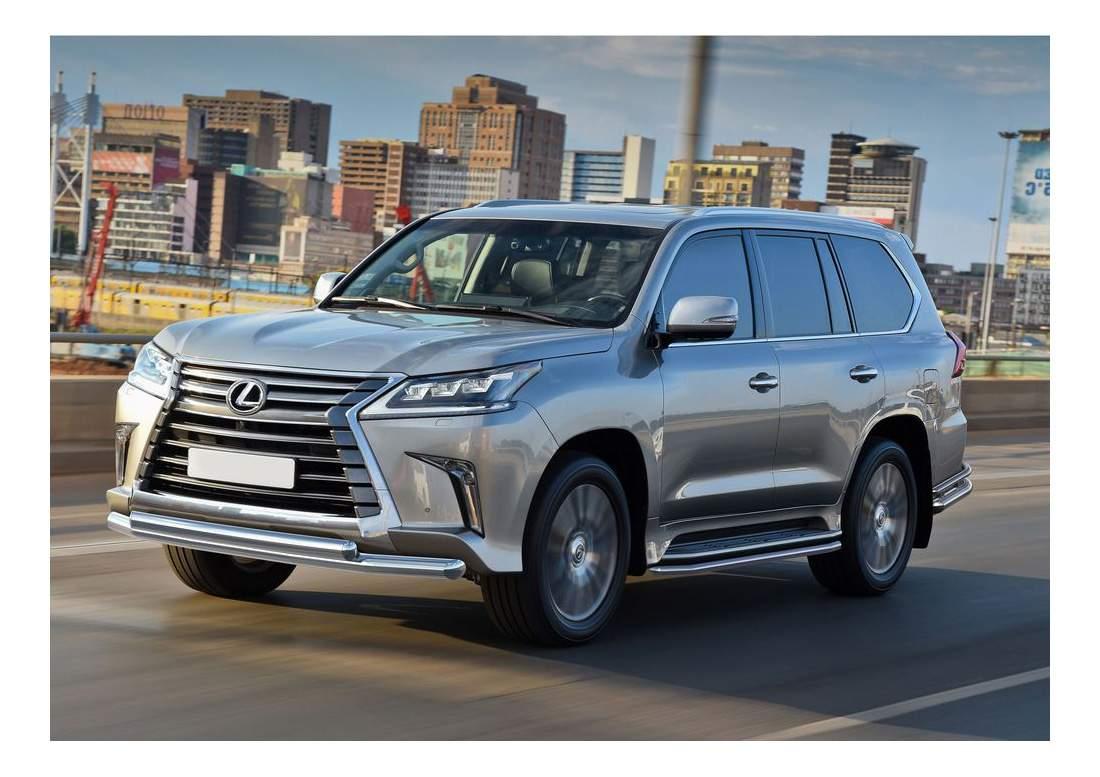 Защита порогов RIVAL для Lexus (R.3210.005)