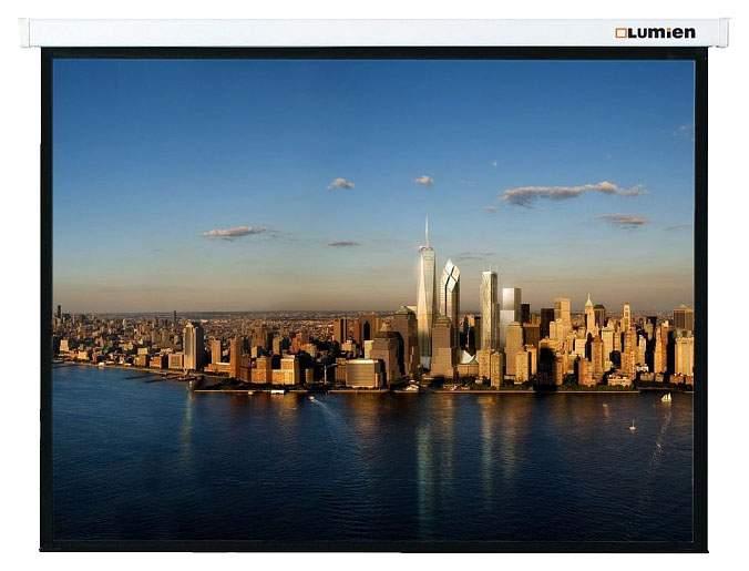 Экран для видеопроектора Lumien Master Picture LMP-100104 Белый