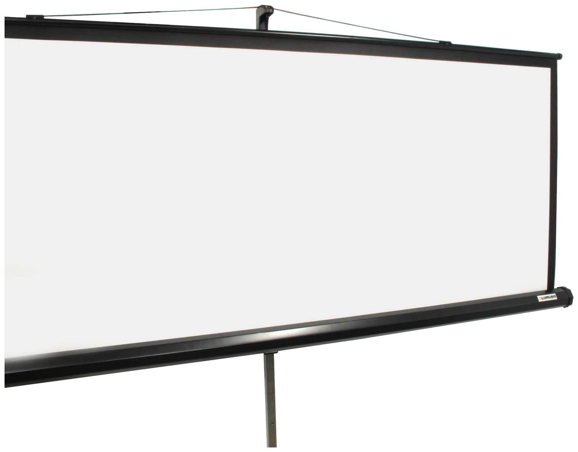 Экран для видеопроектора Lumien Master View LMV-100109 Белый