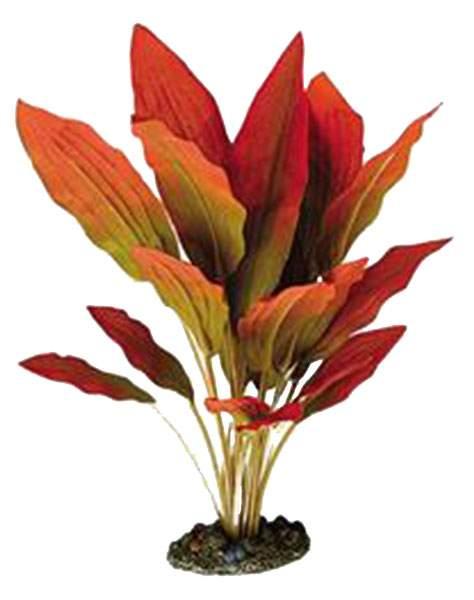 Искусственное растение ветка 30см красный, желтый