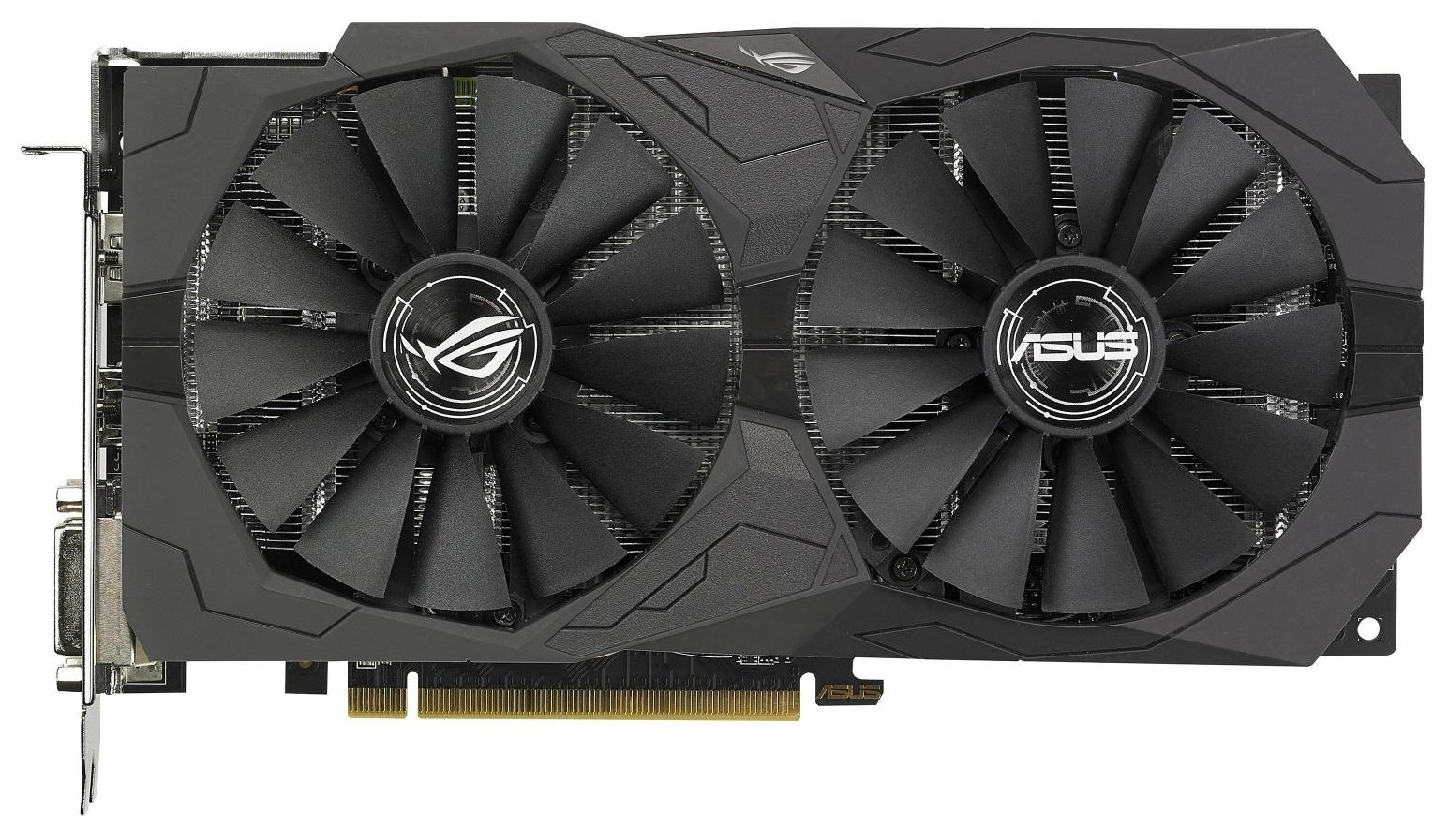 Видеокарта ASUS ROG Strix Radeon RX 570 (ROG-STRIX-RX570-O4G-GAMING)