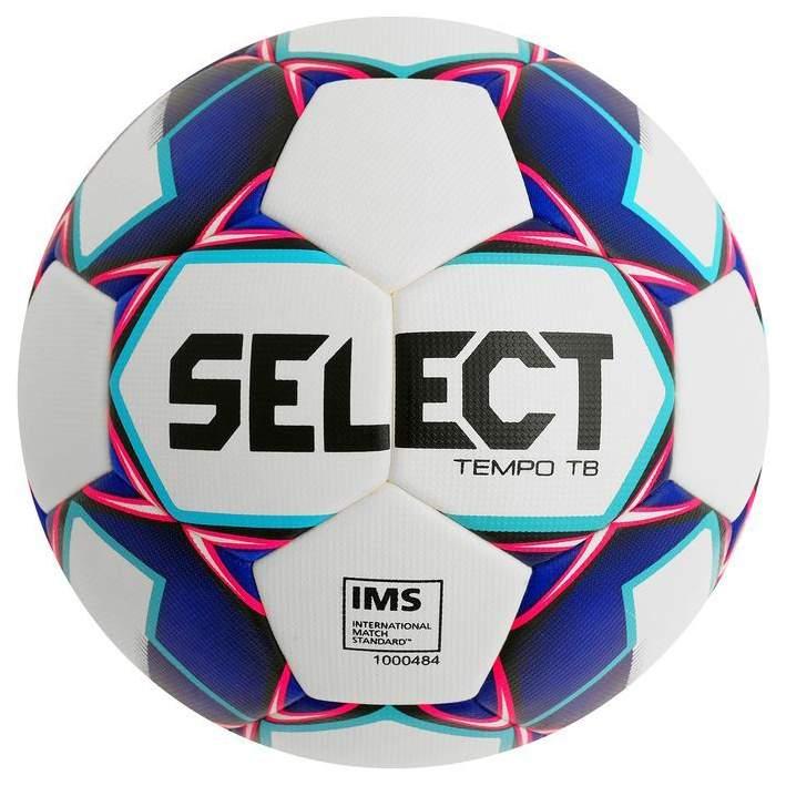 Миниатюра Футбольный мяч Select Tempo TB №5 white/blue №1