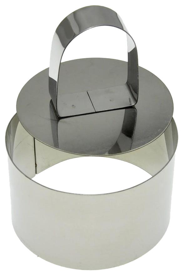 Кулинарная форма с прессом Мультидом «Круг», круглая, с крышкой-прессом, диаметр 7 см