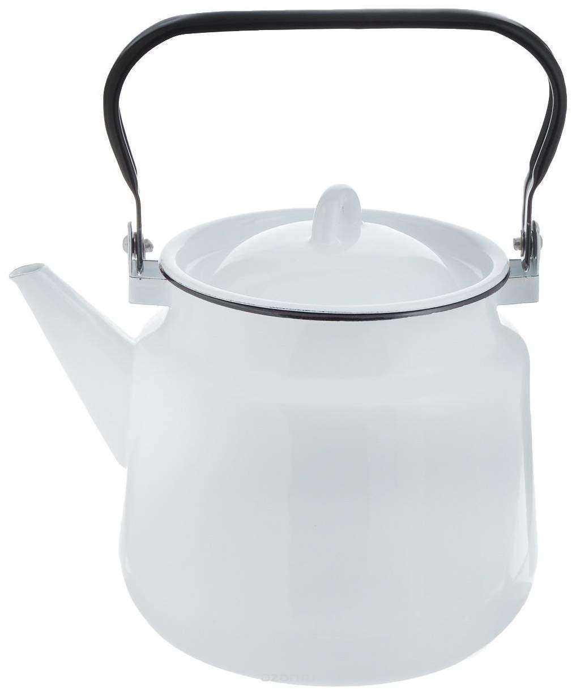 Чайник для плиты СТАЛЬЭМАЛЬ 2С26Я 3.5 л