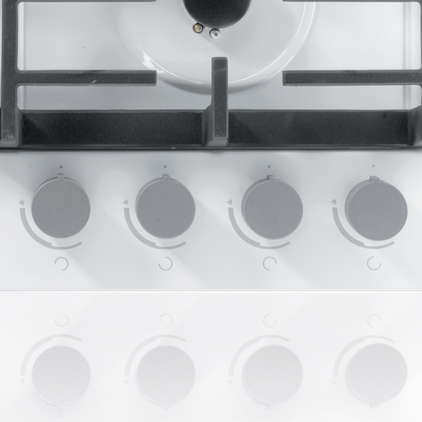 Встраиваемая варочная панель газовая Gorenje G6SY2W White