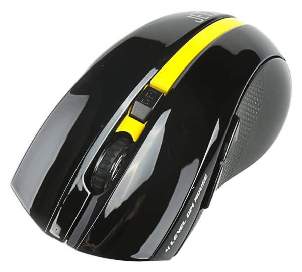 Беспроводная мышка Jet.A Comfort OM-U40G Yellow/Black