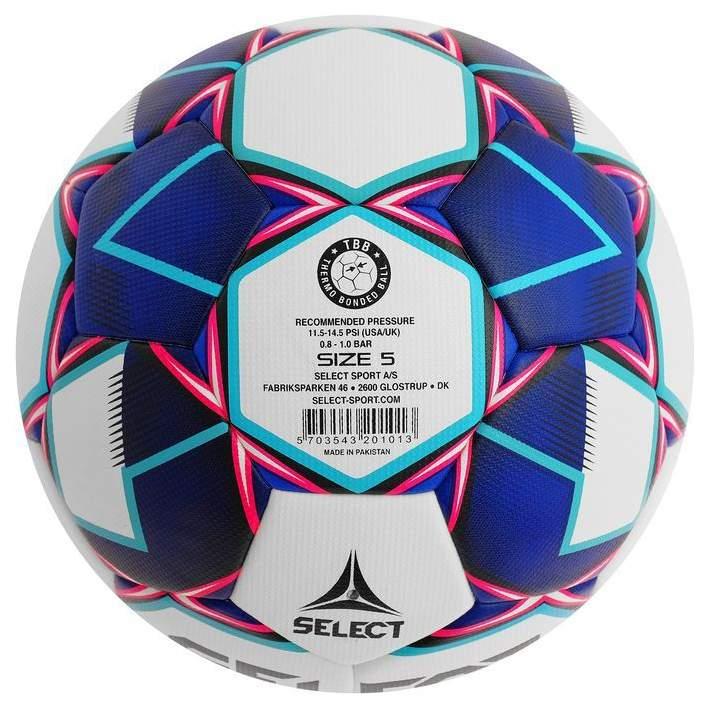 Миниатюра Футбольный мяч Select Tempo TB №5 white/blue №2
