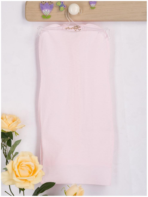 Пеленка-трансформер для девочек Трия НВ. Кантри розовая звездочка, размер 56-62 см