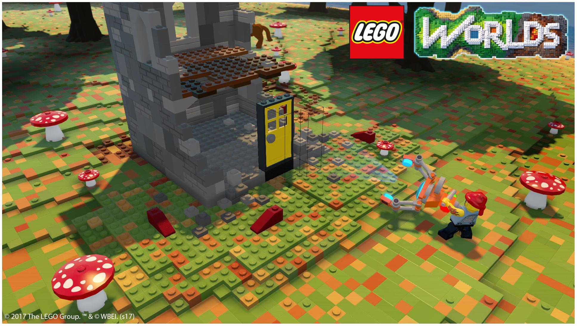 лего игры майнкрафт