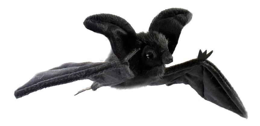 Мягкая игрушка Hansa Летучая Мышь Черная Парящая 37 см