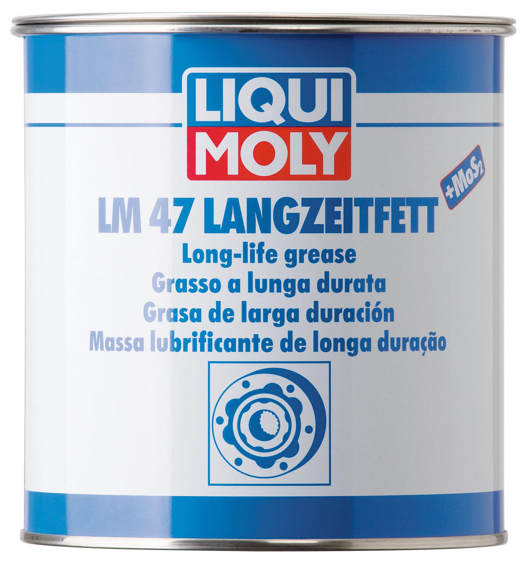 Литиевая смазка LIQUI MOLY 1кг 10000мл 3530
