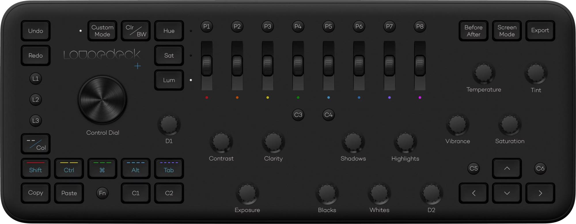 Клавиатура Loupedeck LD+ Black