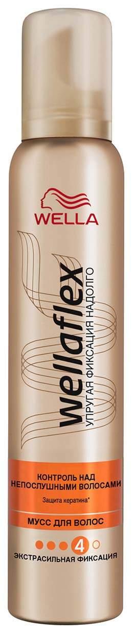 Мусс для волос Wella Wellaflex Контроль над непослушными волосами