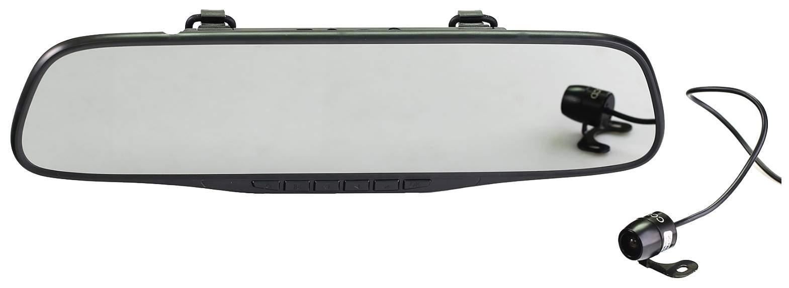 Салонное зеркало заднего вида с регистратором SilverStone NTK-351
