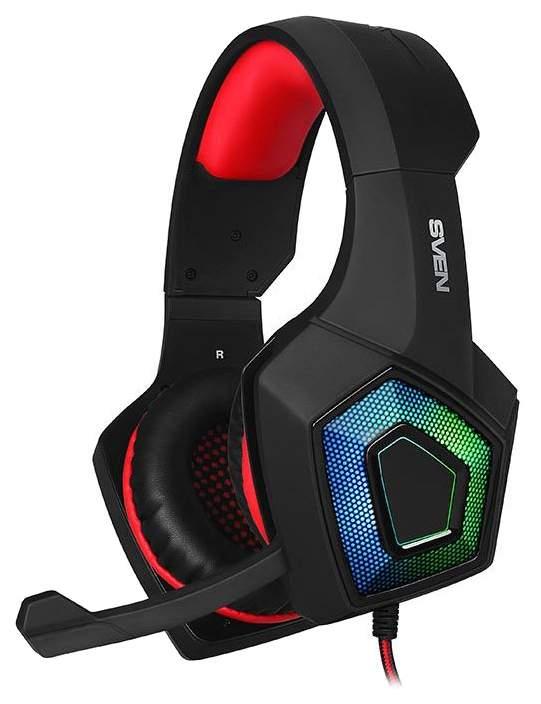 Игровые наушники Sven AP-U880MV Black/Red