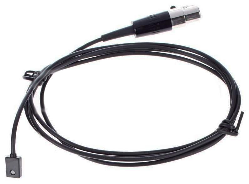 Микрофон Shure WL93 петличный для радиосистем Черный