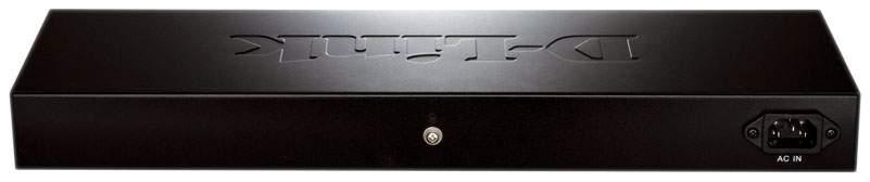 Коммутатор D-Link EasySmart DES-1100-26 Серый, черный