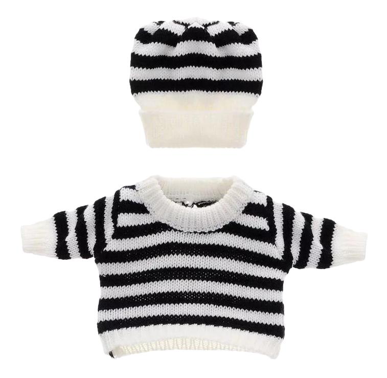Шапочка, кофточка и штаны, размер: 30x20 см для кукол Junfa toys