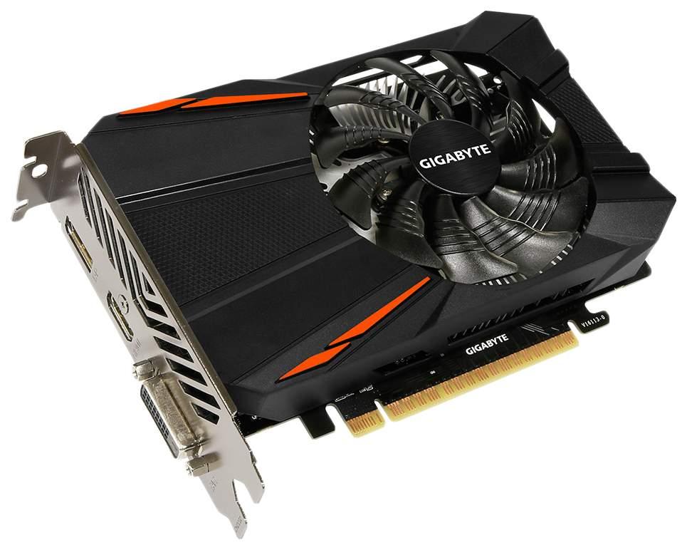 Видеокарта GIGABYTE GeForce GTX 1050 (GV-N1050D5-2GD)