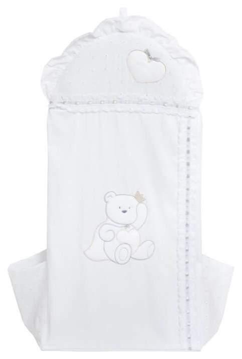 Мешок для подгузников Italbaby Principinii Baby Expert белый