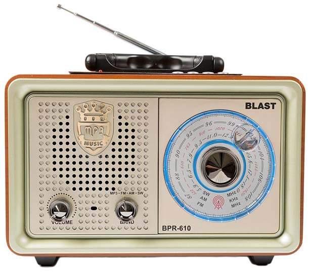 Радиоприемник Blast BPR-610 Gl
