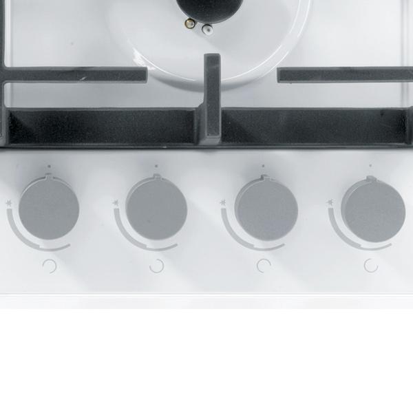Встраиваемая варочная панель газовая Gorenje GKT6SY2W White