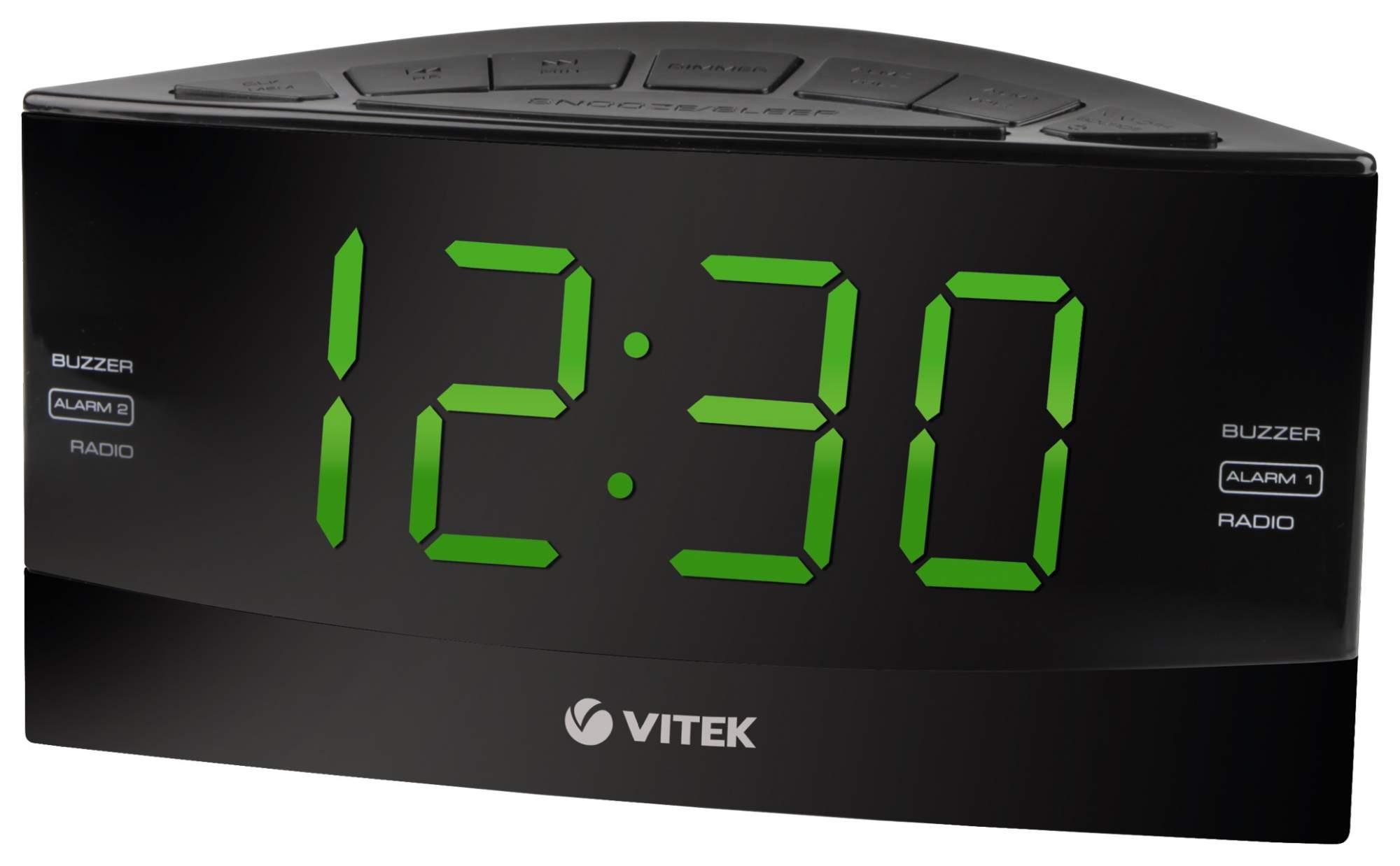Радио-часы VITEK VT-6603 BK