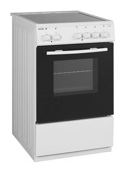 Миниатюра Электрическая плита Vestel VC V56W White №1