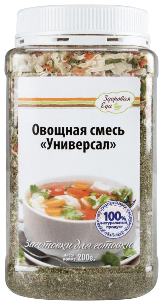 Овощная смесь  Здоровая еда сушеная универсал 200 г
