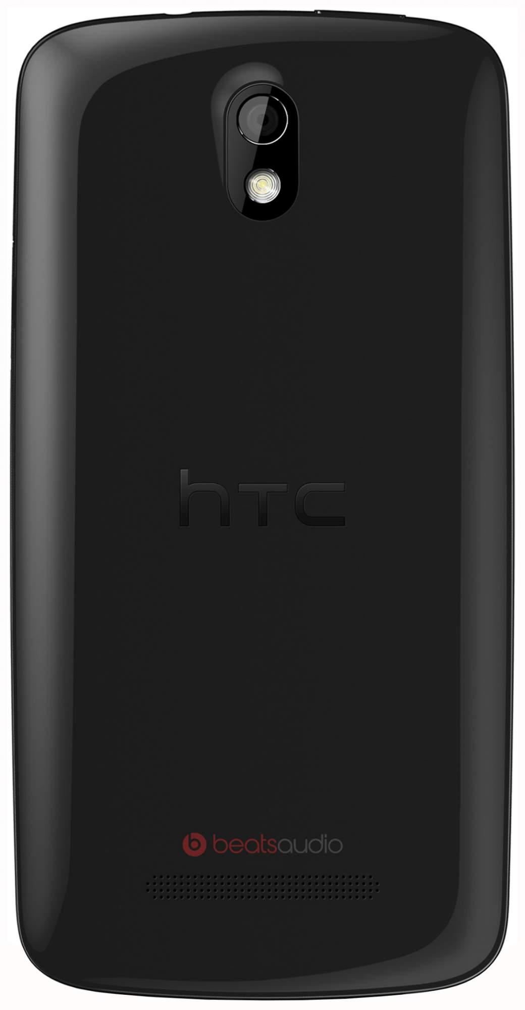 Смартфон HTC Desire 500 dual sim Rus Glossy Black
