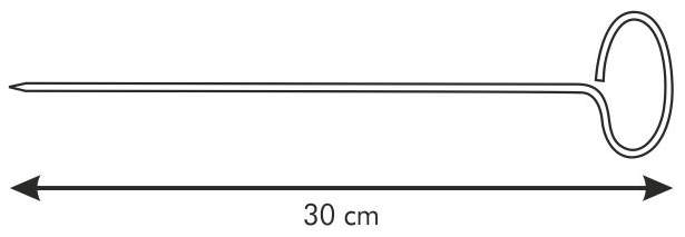 Шампур Tescoma Presto 30 см, 6 шт