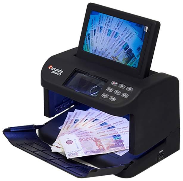 Детектор банкнот Cassida D6000
