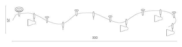 Трек-система ARTE LAMP TRACK LIGHTS A3058PL-6BK
