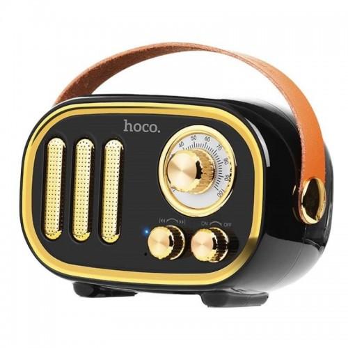 Беспроводная акустика Hoco Voice Reminder retro BS16-1B Black