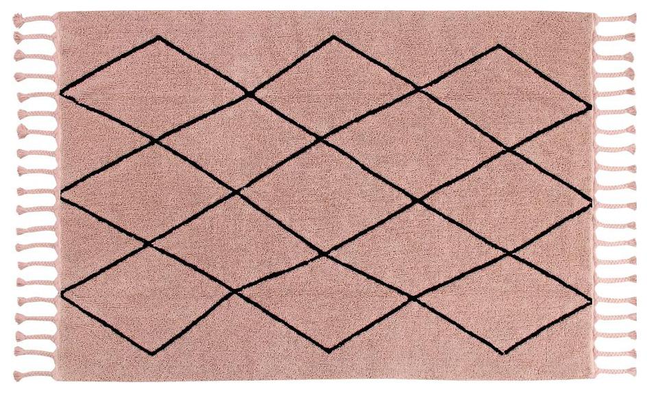 Ковер Lorena Canals Bereberвинтажный розовый 140*200