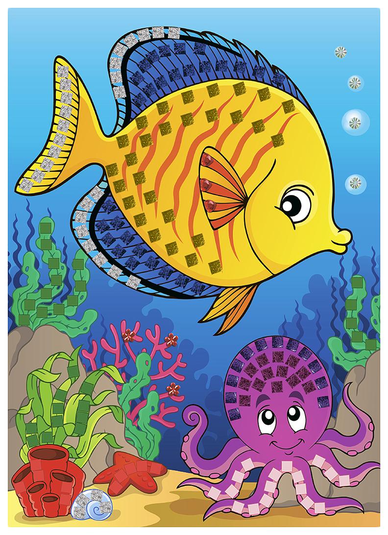 Рисовать, рисунок с рыбками для детей