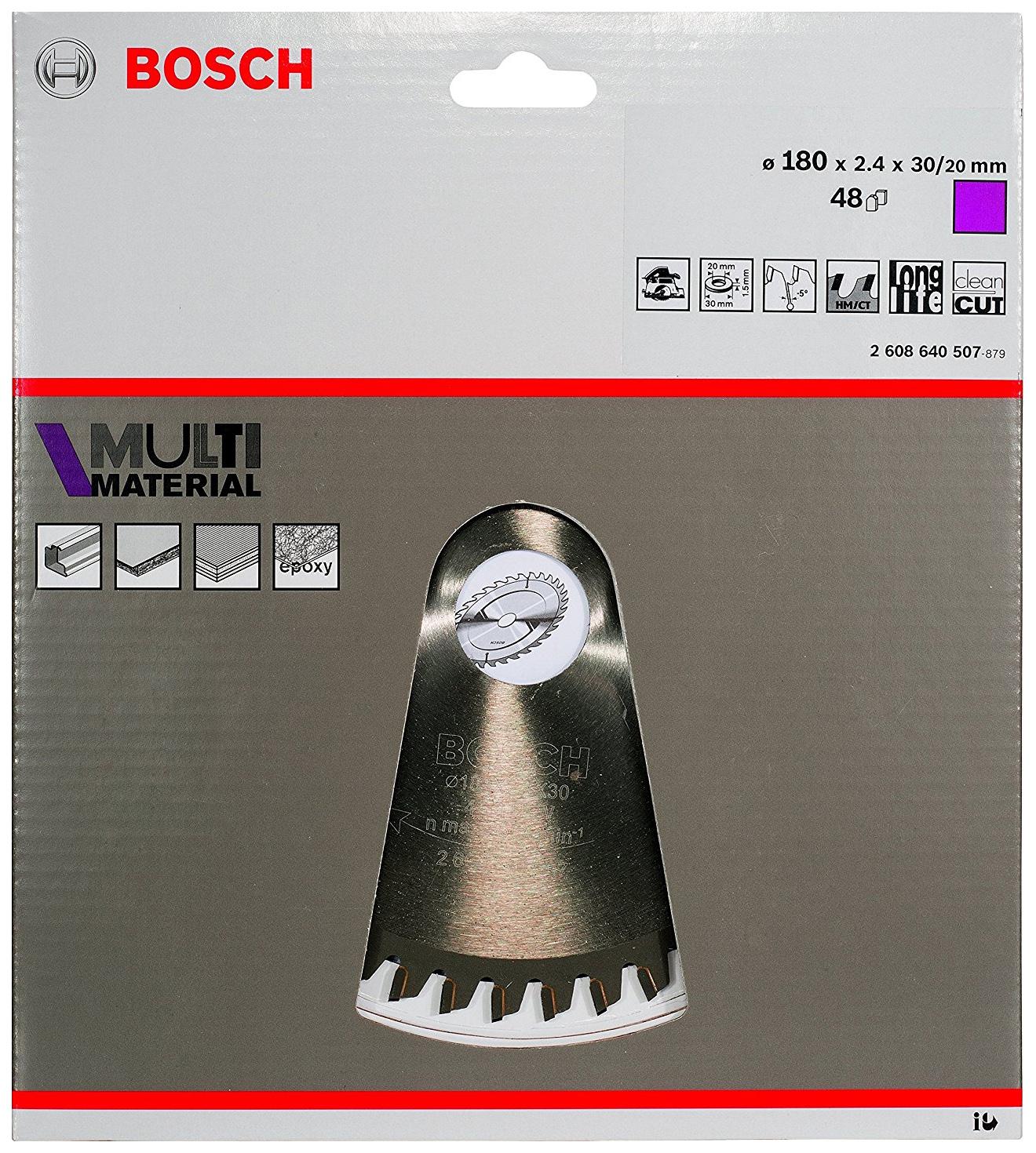 Диск по дереву Bosch STD MM 180Х30-48T 2608640507