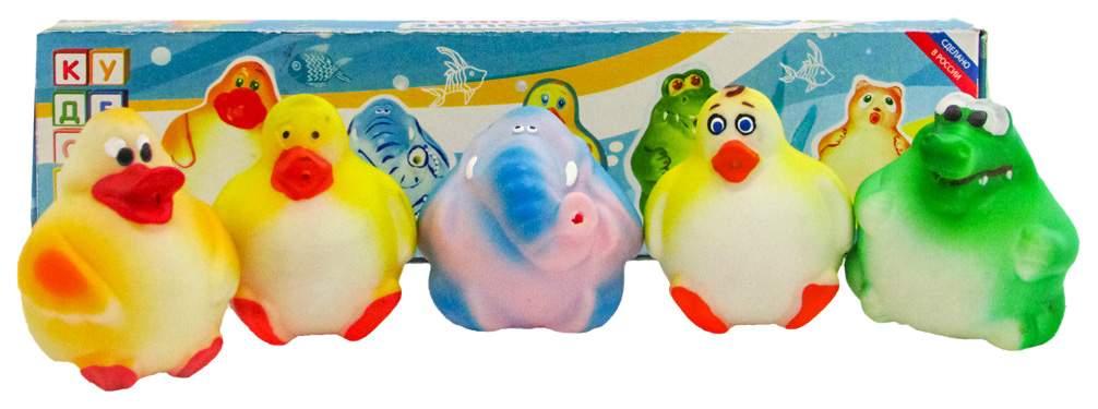 Игрушка для купания Кудесники Брызгающие животные 5 видов в ассортименте