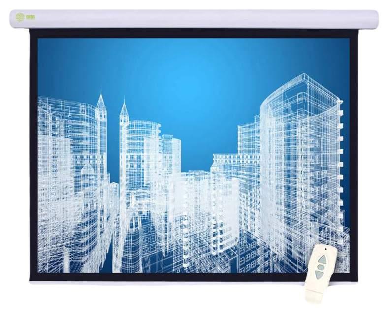 Экран для видеопроектора Cactus Motoscreen CS-PSM-152x203 Белый