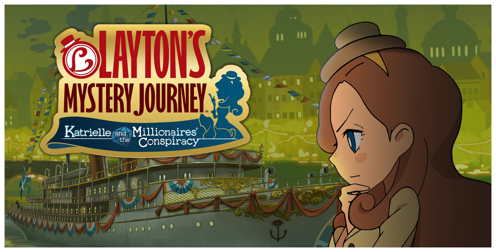 Игра Laytons Mystery Journey Katrielle and the Millionaires Conspiracy для Nintendo 3DS