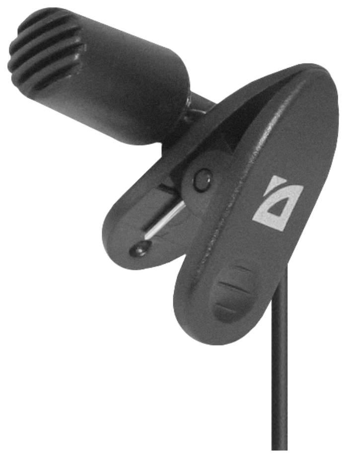 Микрофон Defender MIC-109 64109 Черный