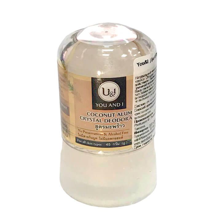 Дезодорант Thai House of Nature Alum Crystal Deodorant - Coconut 45 мл