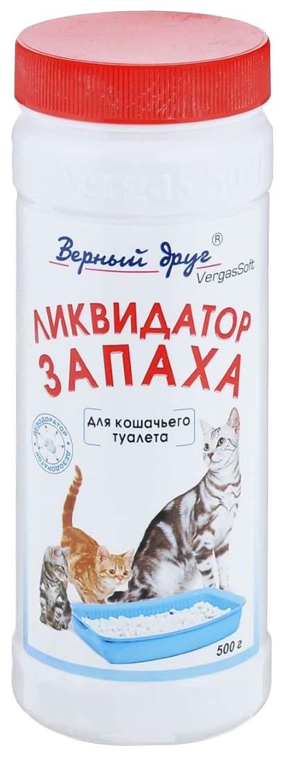 Нейтрализатор запаха животных Верный Друг пластиковая банка, 500 г