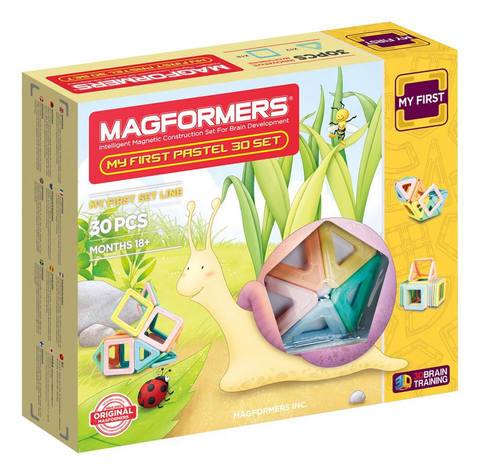 Конструктор магнитный Magformers My First Pastel Set 30