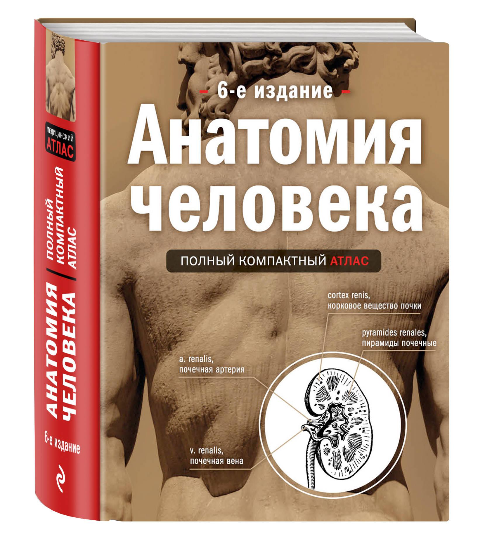 Анатомия человека: полный компактный атлас, 6-е издание